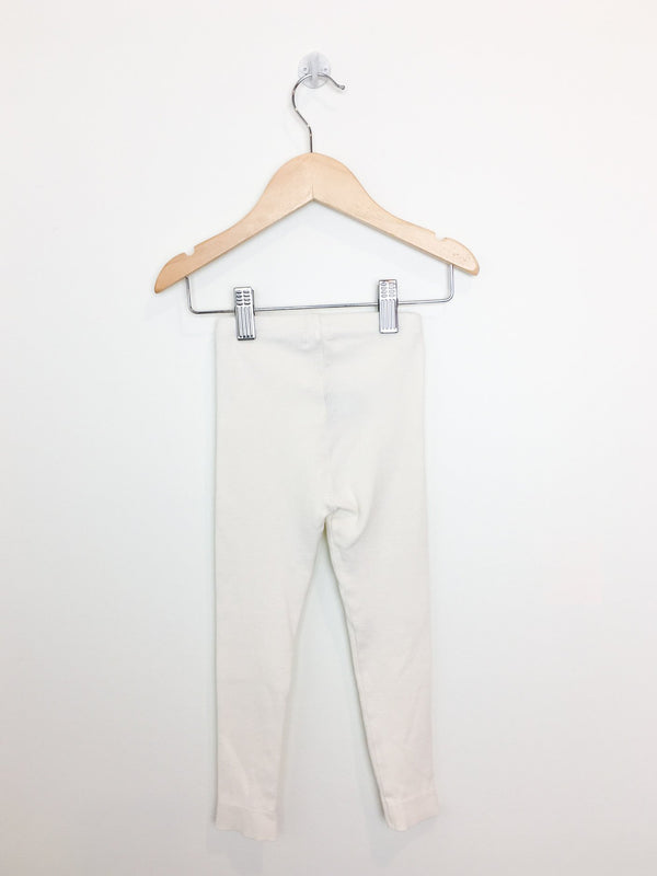 Kidwild Leggings 18-24m / Preloved Re-Cycle Solid White Leggings