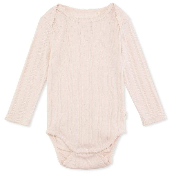 Konges Sloejd Bodysuit Minnie Body - Lavender Mist