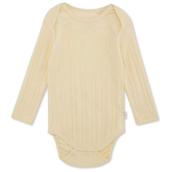 Konges Sloejd Bodysuit Minnie Body - Lemon Sorbet