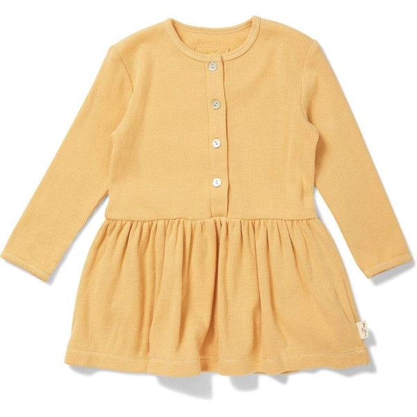 Konges Sloejd Dress Siff Dress - Orange Sorbet