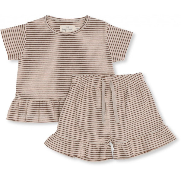 Konges Sloejd Sets Kaya Set - Caramel Stripes