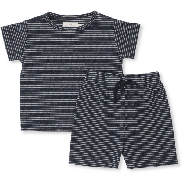 Konges Sloejd Sets Kaya Set - Striped Navy/Nature