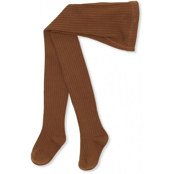 Konges Sloejd Tights Mateo Tights Rib - Caramel