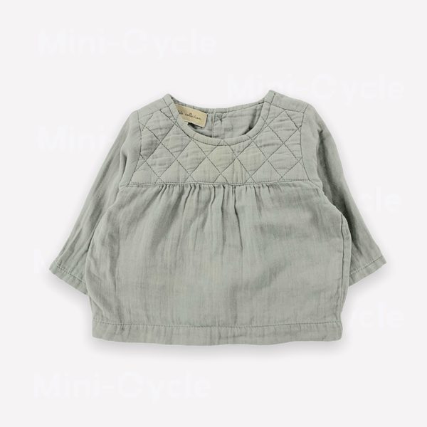 La Petite Collection Blouse 3m / Preloved Re-Cycle Quilted Blouse