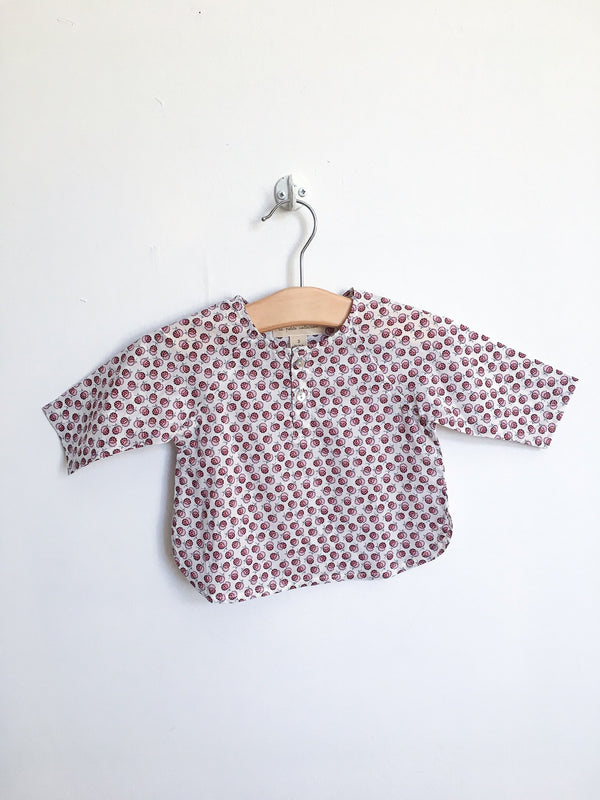 La petite collection Shirts 3m / New with Tag Re-Cycle Liberty Blossom Rose Blouse