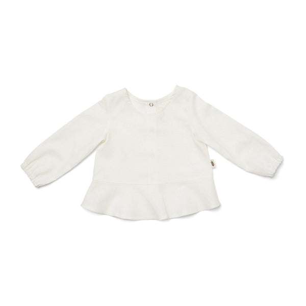 Les Petites Natures Blouse Flare Blouse - Off White
