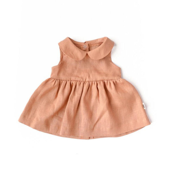 Claudine Dress - Apricot