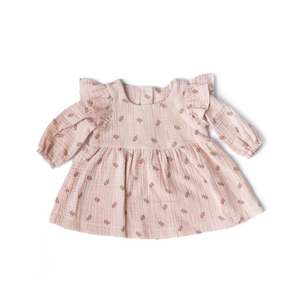 Les Petites Natures Dress Dress - Pink Ferns