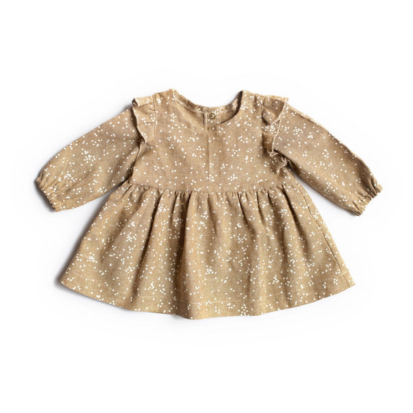 Les Petites Natures Dress Dress - Winter Fawn