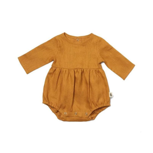 Les Petites Natures Dress Romper - Honey