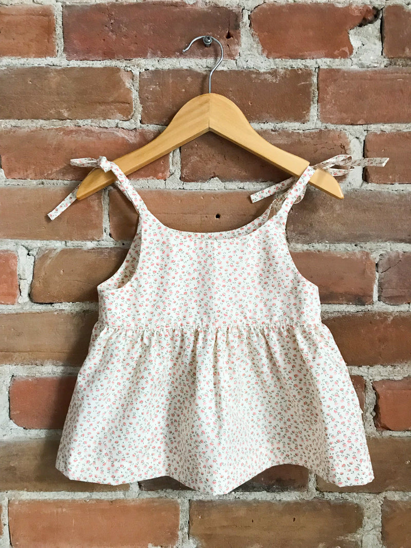 Les Petites Natures Dresses + Skirts 6-12m Dress - Blossom