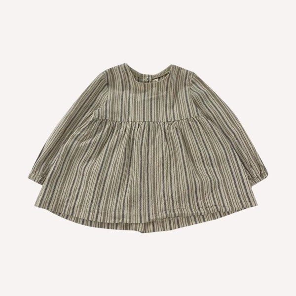 Les Petites Natures Tunic 18-24m / Like New Re-Cycle Striped Beige Tunic