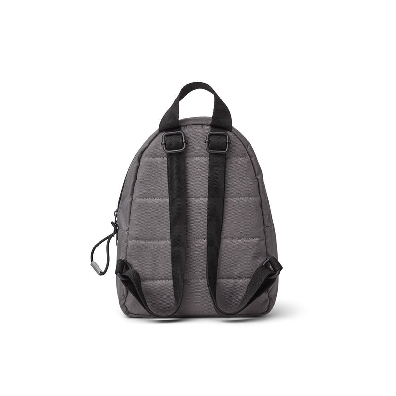 Liewood Bib Saxo Mini Backpack - Panda Stone Grey