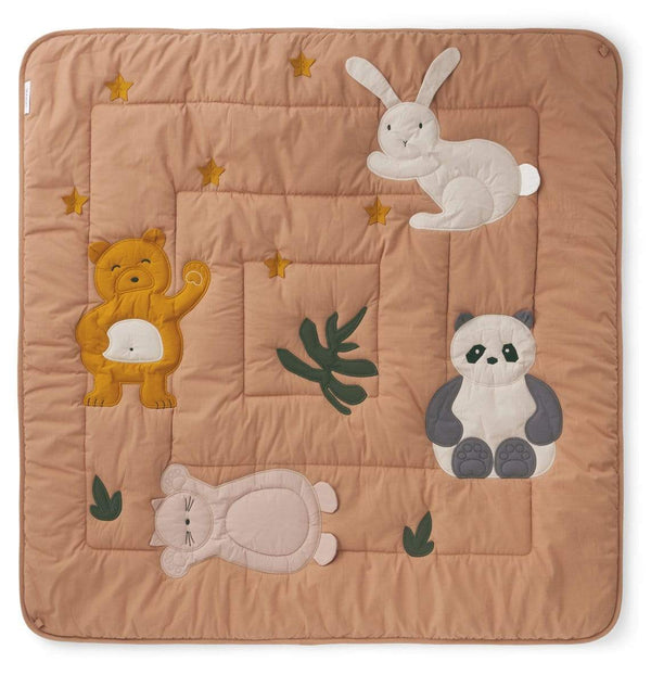 Liewood Blanket O/S Glenn Activity Blanket - Classic Tuscany Rose