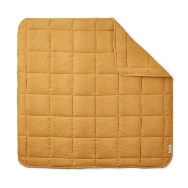 Liewood Blanket O/S Mette Quilted Blanket - Yellow Mellow