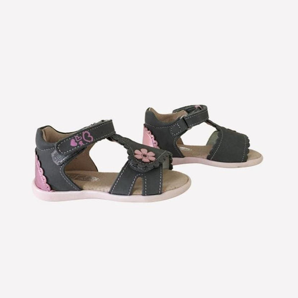 Lil Paolo Sandals EUR 22 / New Re-Cycle Solid Grey Sandals