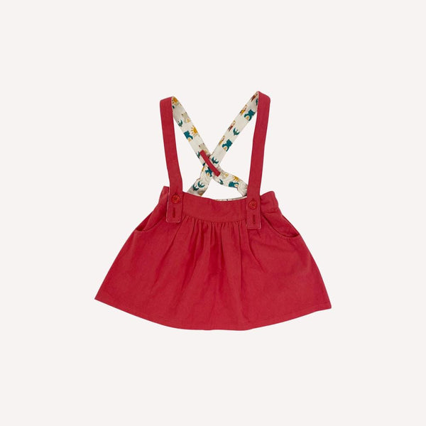 Little Green Radicals Skirt 18-24m / Like New Re-Cycle Solid Red Skirt