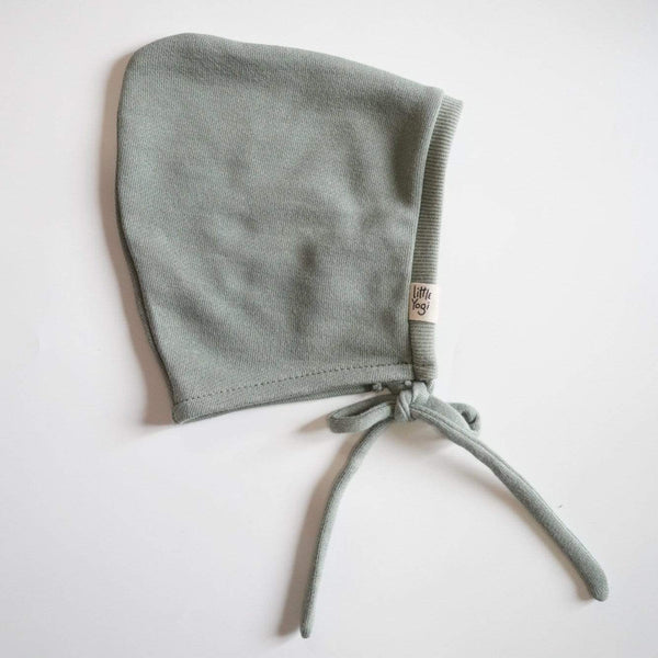 Little Yogi Bonnet Fleece Bonnet - Sage