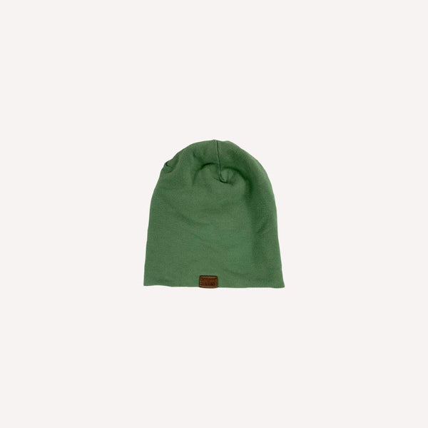 Lou Marine Beanie 3m / Preloved Re-Cycle Solid Green Beanie