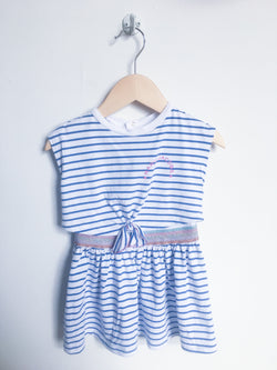 Marc Jacobs Dresses + Skirts 12m / Gently Used Re-Cycle Striped Dress with Shiny Belt