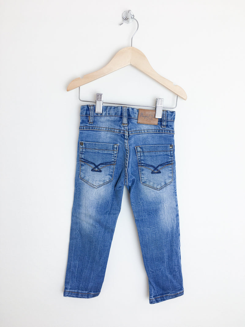 Mayoral Pants 2T / Gently Used Re-Cycle Blue Jeans