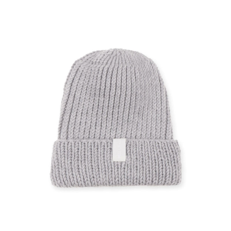 Mille Baby Beanie Adult (5y+) Adult Merino Beanie - Light Grey