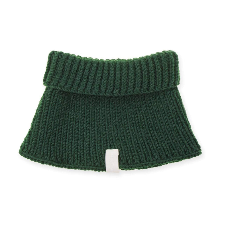 Mille Baby Neck Warmer Adult (5y+) Adult Merino Snood - Bottle Green
