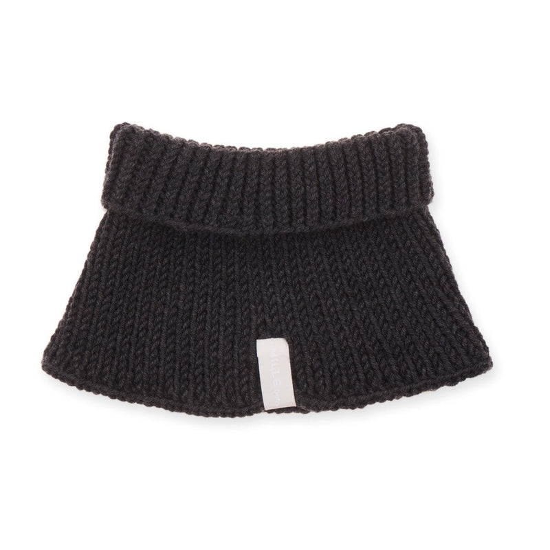 Mille Baby Neck Warmer Adult (5y+) Adult Merino Snood - Graphite