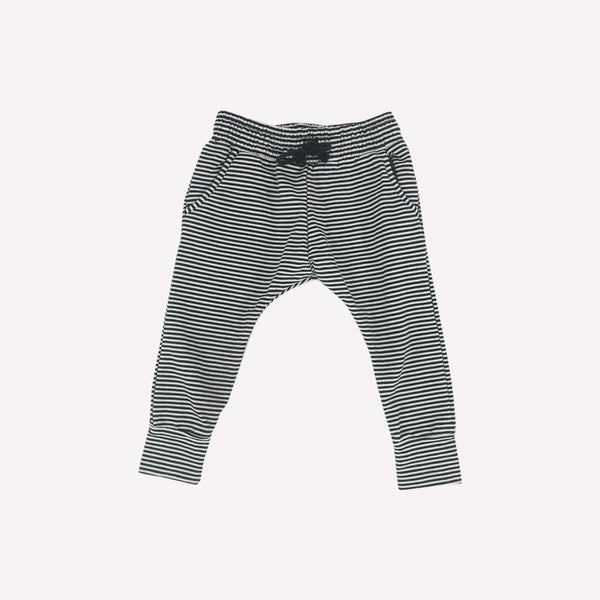 Mingo Pants 1-2T / Like New Re-Cycle Striped Pants
