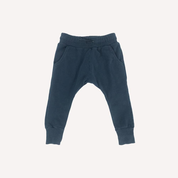 Mingo Pants 1-2T / Preloved Re-Cycle Solid Blue Pants