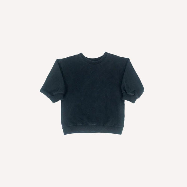 Mingo Sweatshirt 1-2T / Like New Re-Cycle Solid Black Sweatshirt