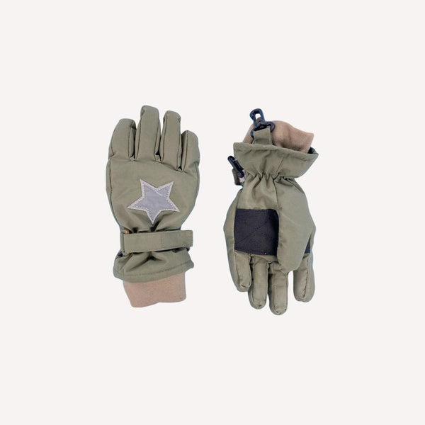 Mini a ture Winter Acc 6-7y / Preloved Re-Cycle Celio Gloves - Beetle
