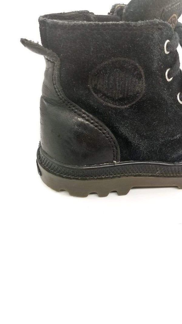 Mini-Cycle Boots US 9 / Preloved Re-Cycle Solid Black Boots