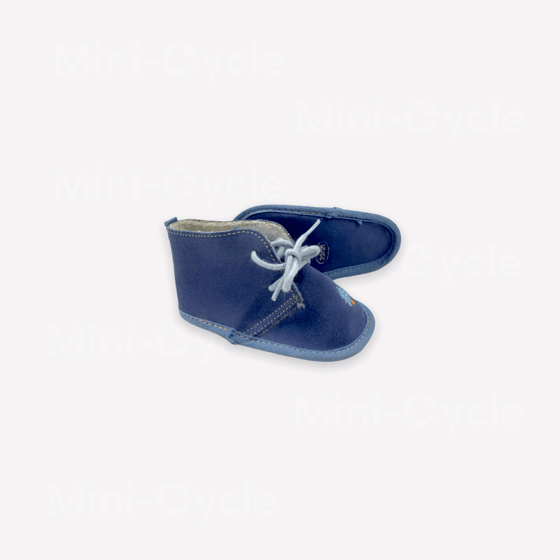 Mini-Cycle Soft Sole Shoe US 3.5 / Like New Re-Cycle Solid Blue Soft Sole Shoe
