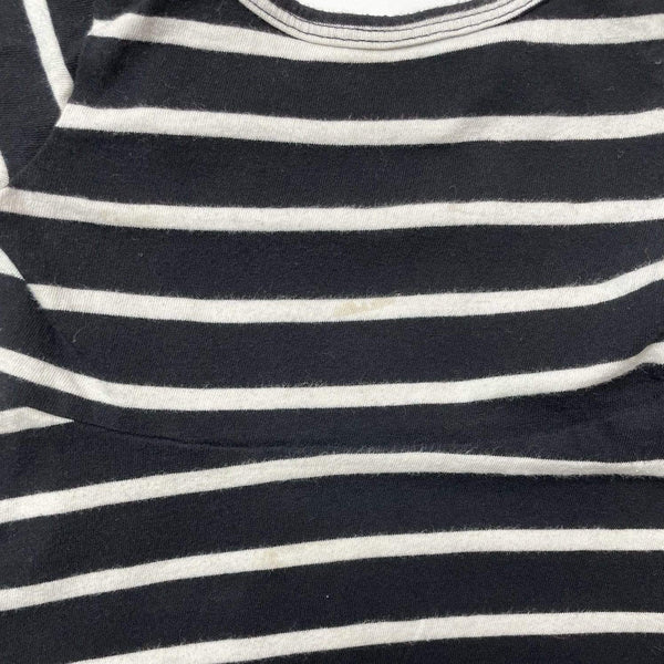 Mini Mioche Dress 12-18m / Preloved Re-Cycle Striped Black and White Dress