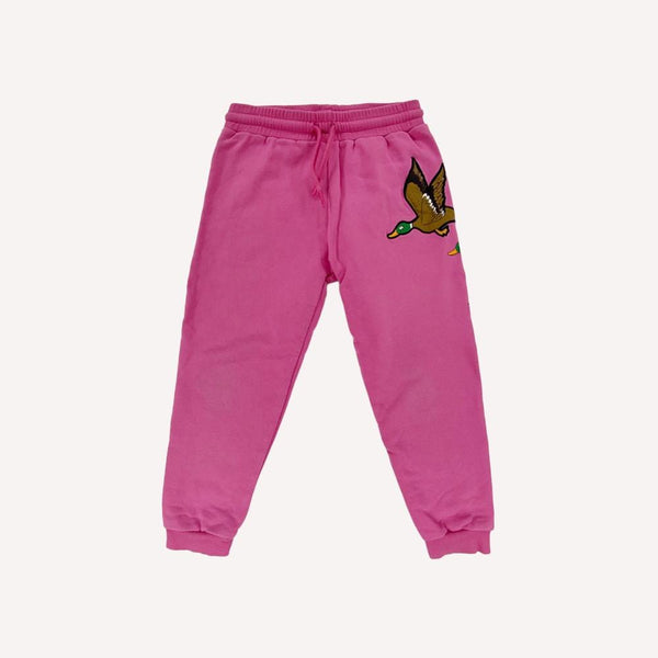 Mini Rodini Pants 4-5y / Like New Re-Cycle Mallard Duck Sweatpants
