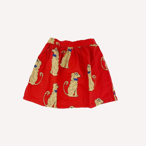 Mini Rodini Skirt 4-5y / Like New Re-Cycle Spaniels Skirt