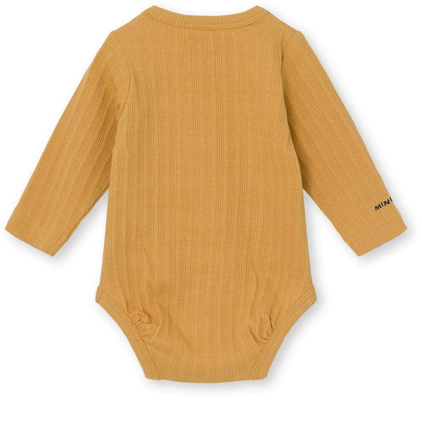 Miniature Bodysuit Yomi Body GOTS - Honey Yellow