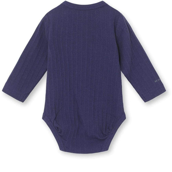 Miniature Bodysuit Yomi Body GOTS - Slate Blue