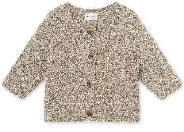 Miniature Cardigan Deni Cardigan - Wood