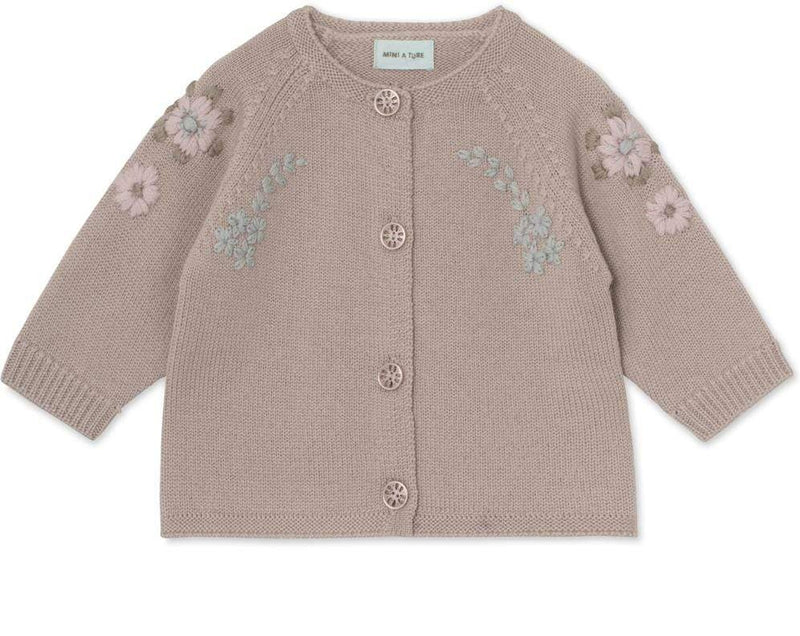 Kerry Cardigan - Cloudy Rose