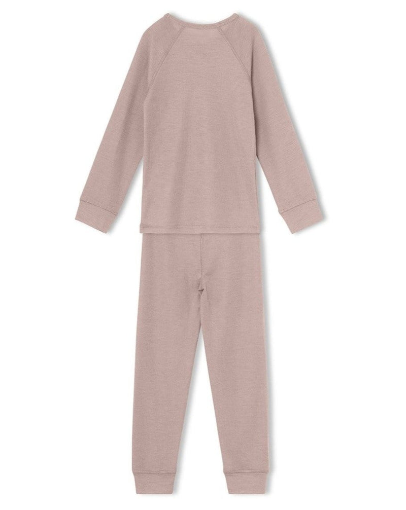 Thermal Long John Bela Set - Pale Mauve