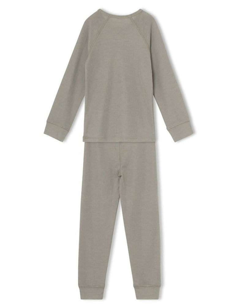 Thermal Long John Bela Set - Vert
