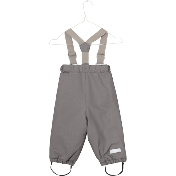 Miniature Outerwear 12m Wilas Snow Pants - Steel Grey
