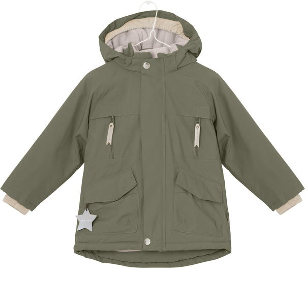 Miniature Outerwear 2y Wille Winter Jacket - Clover Green