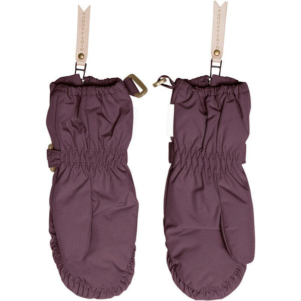 Miniature Outerwear 4-5y Cesar Gloves - Winetasting Plum