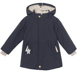 Miniature Outerwear 5y Viola Winter Jacket - Sky Captain Blue