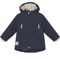 Miniature Outerwear 5y Wille Winter Jacket - Sky Captain Blue