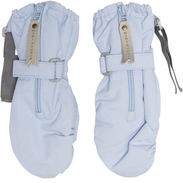Miniature Outerwear 6-12m Cesar Gloves - Cashmere Blue