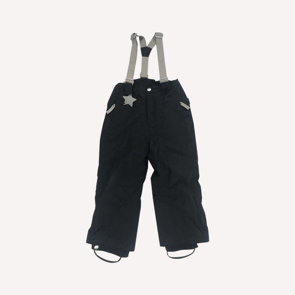 Miniature Snow Pants 7y / Like New Re-Cycle Witte Snow Pants - Black